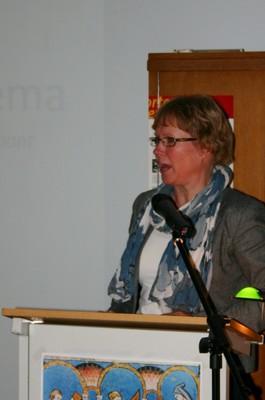 Gedeputeerde mw. B. Van Haaften-Harkema
